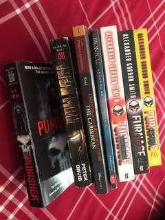 All books as shown