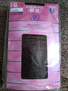 女裝款厚襪褲 (深啡色)$100/盒,一盒共10對 (Made in japan)