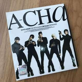 Super Junior A-CHA album #JAN50