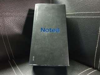 Samsung Note 8 BOX ONLY