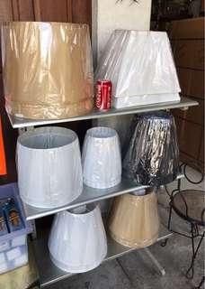 various shades for table lamps or lamp shades