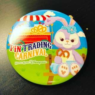 Disney 迪士尼 Stellalou Pin Trading Carnival Badge 襟章 Cast Exclusive
