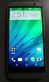 HTC M8 七成新 壞相機鏡頭
