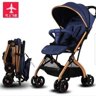 TOBY QZ1 Cabin Pockit Portable Compact Lightweight Travel City Baby Stroller BaoBaoHao