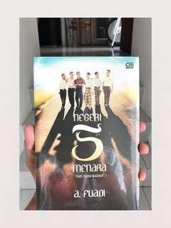 Buku Novel Negeri 5 Menara by a.fuadi