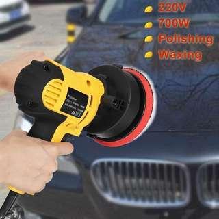 🔥[HOT ITEM]🔥700W CAR MACHINE POLISHING AND BUFFING WAXING WAXER POLISHER 6 SPEED