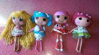 Take all: Origina Lalaloopsy Dolls from US