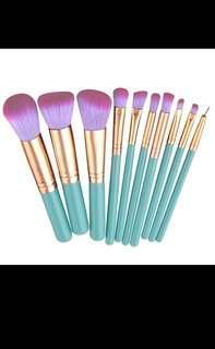Unicorn Rainbow Brush Set