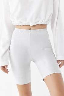Nylon Biker Shorts
