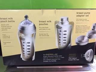 Express and Go breastmilk starter small set
