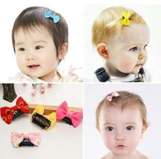 Baby clip on hair clip