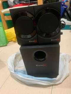 Blaster x Speaker