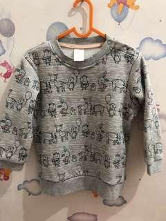 Sweater Grey by H&M