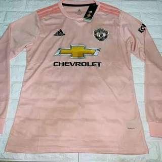 Man Utd Long Sleeve Kit Jersey