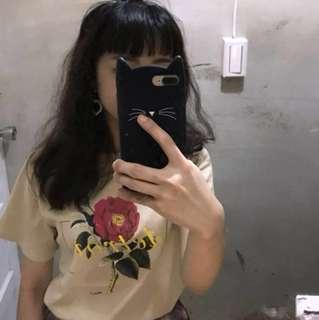 🚚 🎉5折現貨出清🎉0.13area  帶刺玫瑰T恤