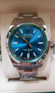 Fast cash all Rolex watch