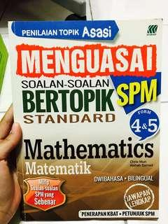 Maths form 4&5