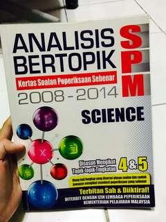 SPM Science form 4&5