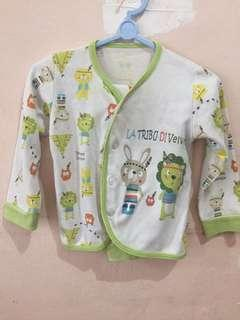 Set anak velvet junior 6m