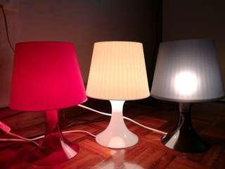 Ikea LAMPAN table lamp (Left RED only!!) #UNDER90