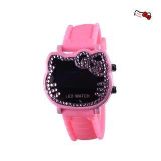 Hello Kitty Diamond Digital Watch Adult Kid Children (Pink) RSJ818914C #JAN50