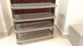 Kitchen/Shoes Shelf (90% New) 層架/ 鞋架 (新淨)