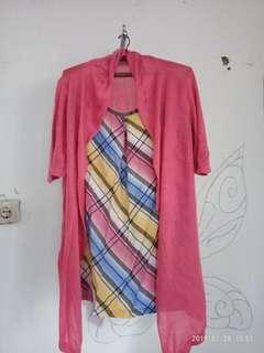 Blouse layer pink