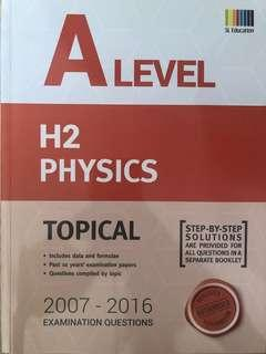 🚚 H1 Physics TYS /W Answers