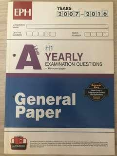 🚚 General Paper G.P TYS /W answers