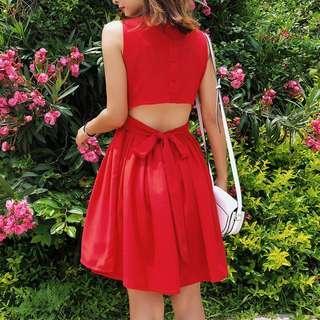 dress: k15033 red M #CNYRED
