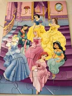Disney Princess jigsaw 24 pieces