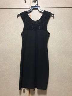 🚚 BLACK LACE BODYCON MINI DRESS