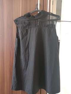 Black Tutleneck Galactic Dress