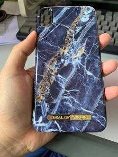 Ideal of Sweden IPhone Xs max 6.5 blue marble
