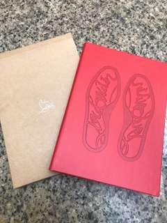 Christian louboutin cl shoes CNY red notebook