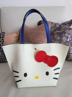 COLORS by Jennifer Sky x Hello Kitty tote bag