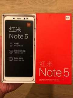 小米紅米 Xiaomi Redmi Note 5 64GB Pink