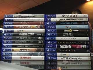PS4 USED GAMES NEW RESTOCK