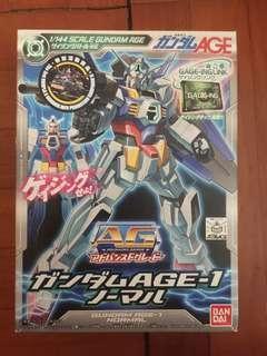全新殘盒AG1/144 AGE 1