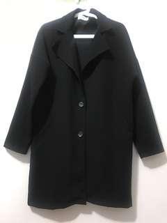 🚚 長版雪紡大衣
