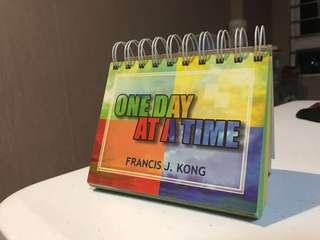 Francis Kong Calendar ONE DAY AT A TIME (Religious Quotes)