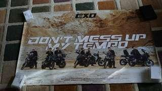 Poster EXO DONT MESS UP MY TEMPO versi moderato official