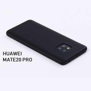(全新)華為 HUAWEI Mate20 Pro 黑色軟殼 電話殼/機套