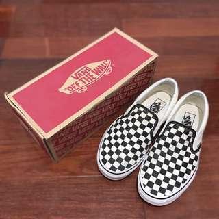 🚚 Vans Classic Slip On棋盤格 懶人鞋 滑板鞋 黑白格