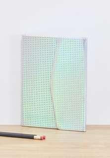 A5 Hologram Magnetic Close Journal TYPO