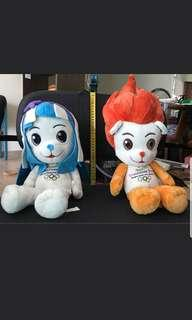 🚚 Singapore Youth Olympic Games 2010 Mascots - Lyo & Merly