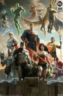 Limited Edition Justice League Art Print (Hand-Signed)