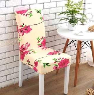 Chair Cover : beige colour (海棠 开花)
