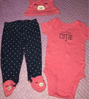 Carter's Newborn Set