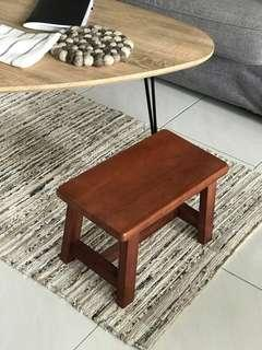 Stool solid wooden